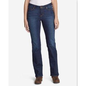 Eddie Bauer Curvy Bootcut Mid-rise Jeans Size 14L